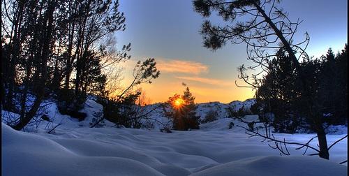 Ferienhaus Norwegen zu Weihnachten flickr (c) Ben Harding