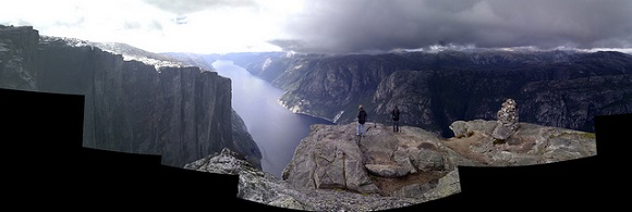 Kjerag in Norwegen