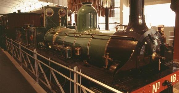 Eisenbahnmuseum in Hamar